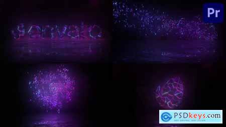 Cristal Magic Logo Premiere Pro MOGRT 31825505
