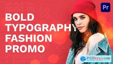 Bold Typography Fashion Promo 31836847