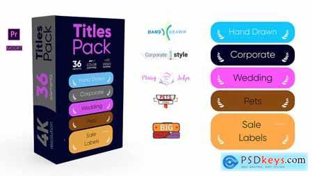 Titles Pack 4K 31865365
