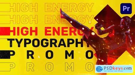 Energy Typography Promo Mogrt 31818419