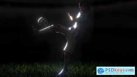 Soccer Kick Logo 31927376