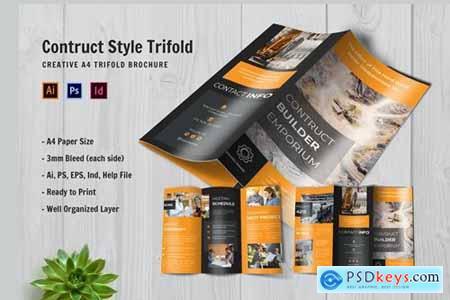 Construct Builder Emporium Trifold Brochure