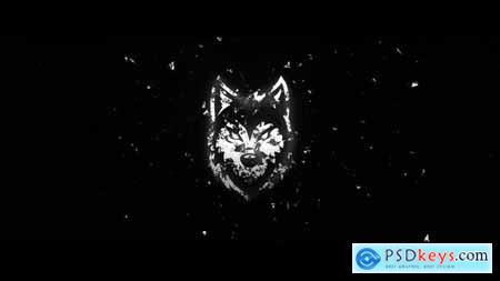 White Grunge Logo 25324341