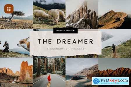 The Dreamer – 8 Lightroom Presets 6049377