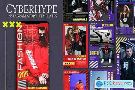Cyberhype - Instagram Story