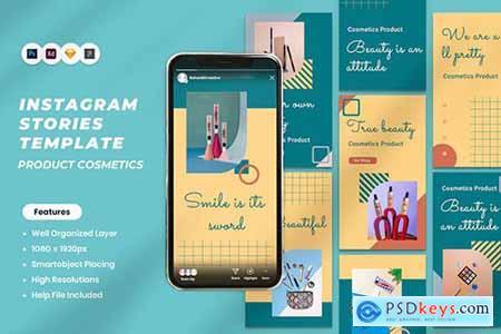 Cosmetics Product Instagram Stories