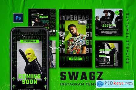 Swagz - Hype Instagram Stories and Post