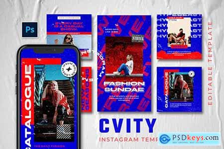 Cvity - Hype Instagram Stories and Post