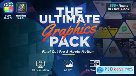 The Ultimate Graphics Pack Final Cut Pro X & Apple Motion 31444521