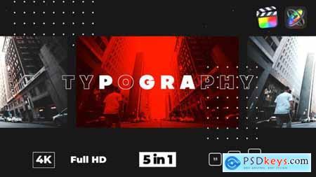Typography Glitch Opener 28752153