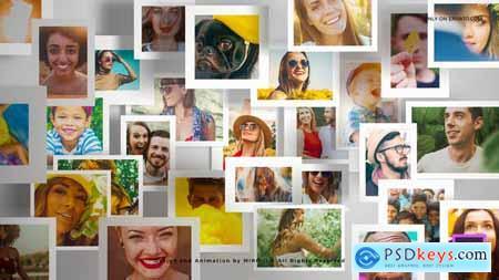 Multi Photo Frames Logo Opener 31858602
