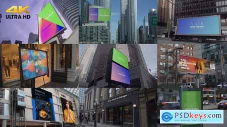 City Advertising Mockups 25782377