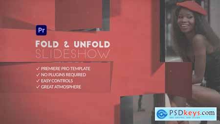 Fold & Unfold Slide show for Premiere Pro 31858925
