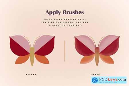 Procreate Stippling Brushes Kit 6136097
