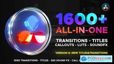 Transitions Library for DaVinci Resolve 29483279