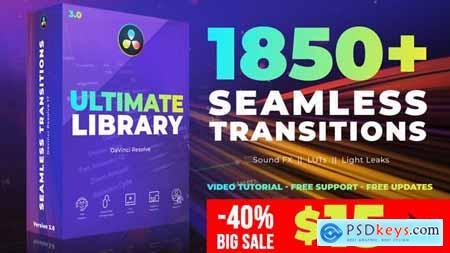Seamless Transitions for DaVinci Resolve 29835571
