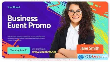 Live Webinar Business Event Promo 32062428