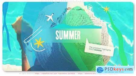 Summer & Vacation Blog Intro 32110559