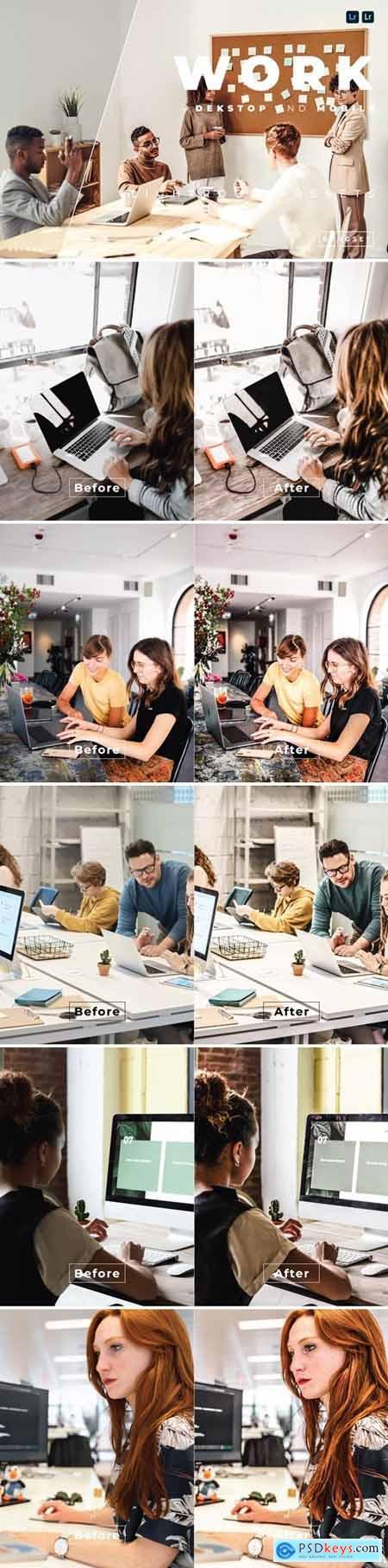 Work Desktop and Mobile Lightroom Preset