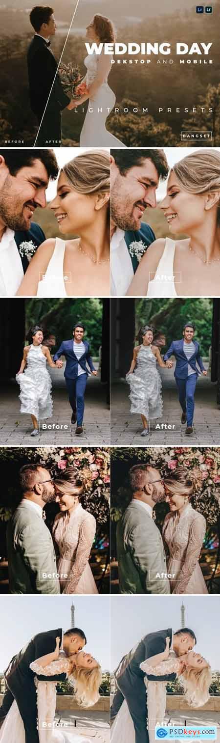 Wedding Day Desktop and Mobile Lightroom Preset