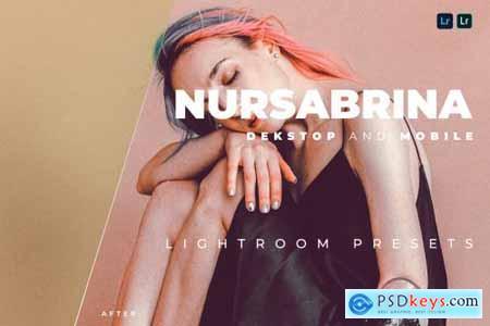 Nursabrina Desktop and Mobile Lightroom Preset