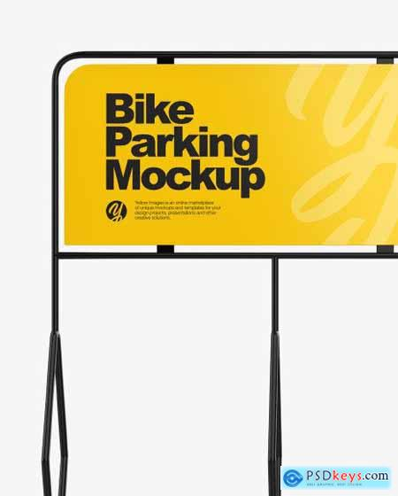 Bike Parking Mockup 82746