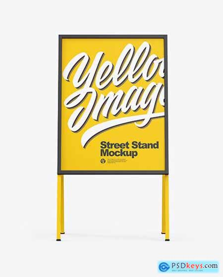 Street Stand Mockup 82918
