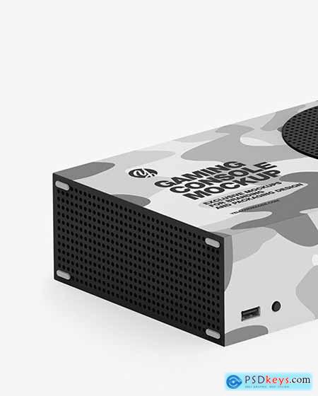 XBOX Series S Mockup 82683