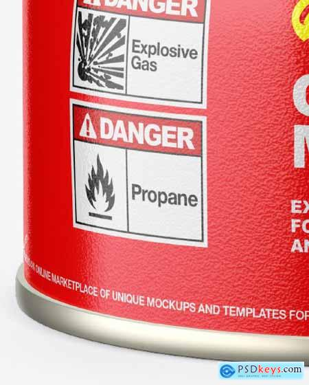 100g Gas Canister Mockup 82915