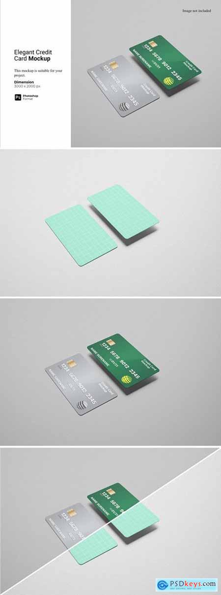 Elegant Credit Card Mockup