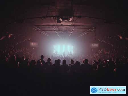MV Preset Pack 04 - Split Tone Concert Photography