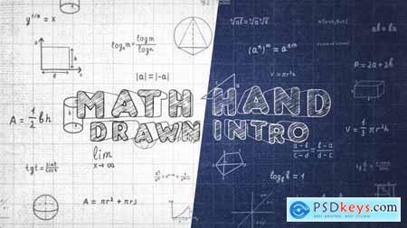 Math Hand Draw Intro 32139869