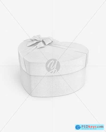 Kraft Gift Box Mockup 82630