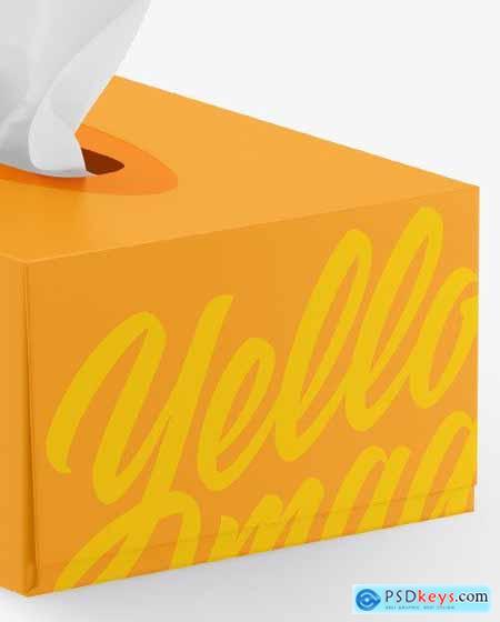 Matte Box w- Wipes Mockup 83552