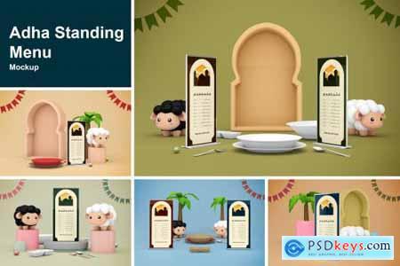 Adha Standing Menu