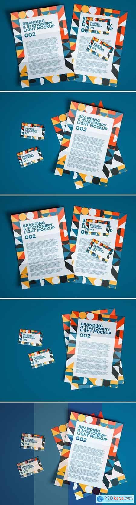 Branding & Stationery Light Mockup 002