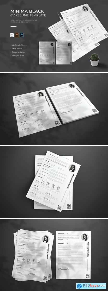 Minima Black - CV & Resume