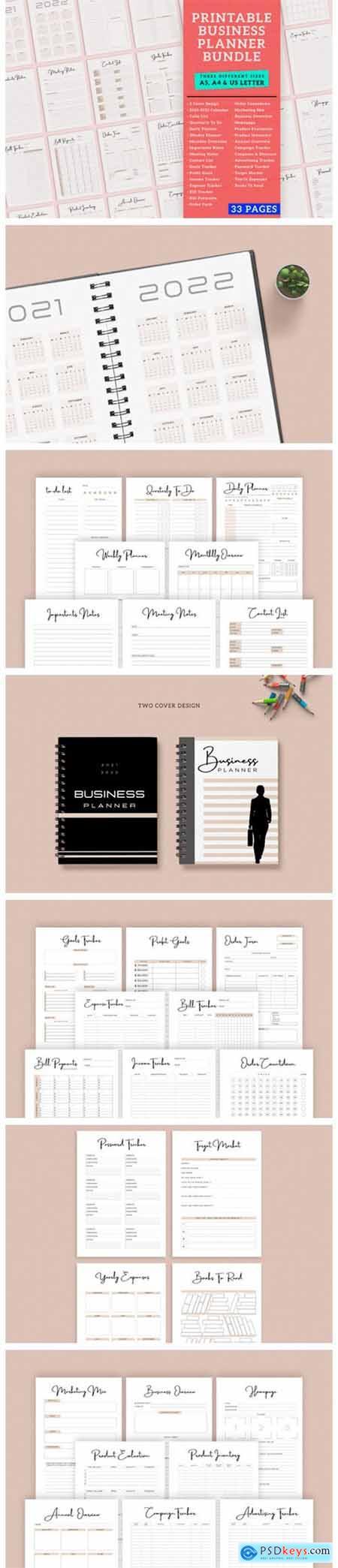 Business Finance Planner Printable 10707502