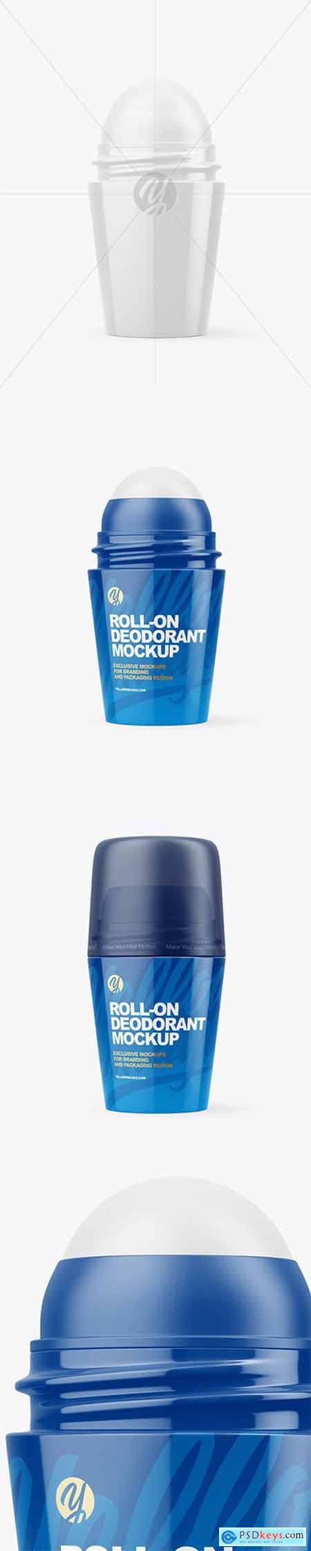 Roll-On Deodorant Mockup 79878