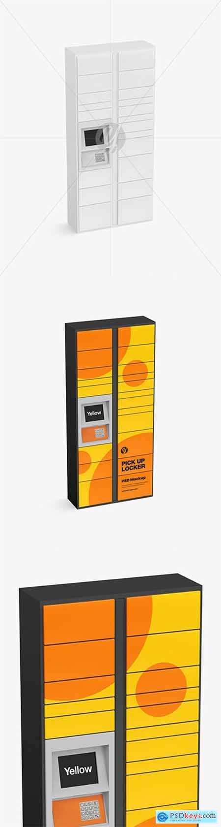 Pick Up Locker Mockup 79736