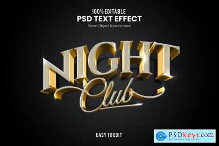 Elegant 3D PSD Text Effect
