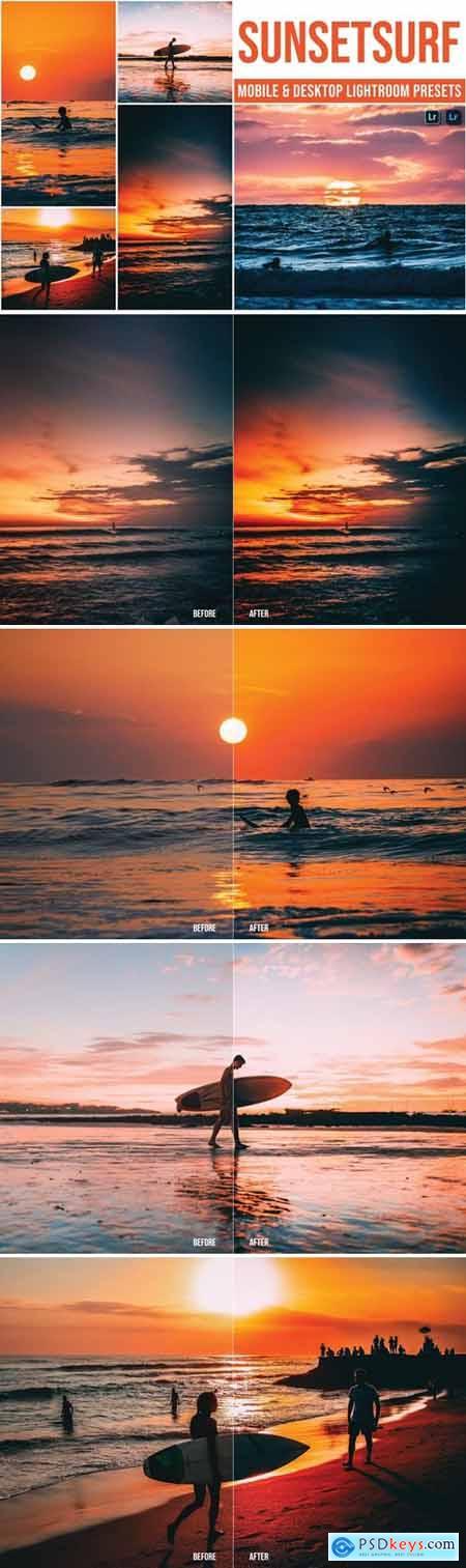 Sunsetsurf Mobile and Desktop Lightroom Presets