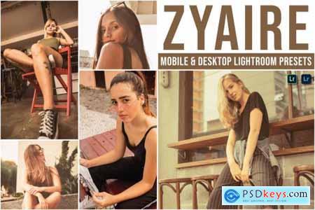 Zyaire Mobile and Desktop Lightroom Presets