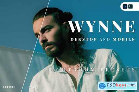 Wynne Desktop and Mobile Lightroom Preset