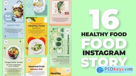 Healthy Food Instagram Stories 32483729