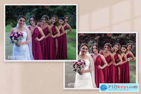 10 Rustic Wedding Collection Preset 6193075