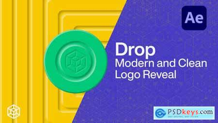 Drop - Modern and Clean Logo Reveal 26467585