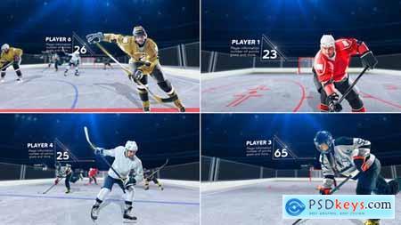 Hockey Player 25639258