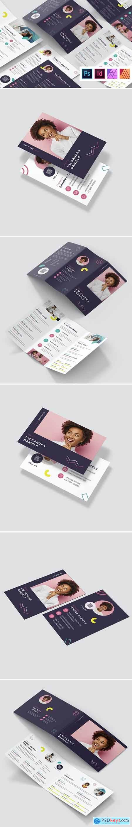 The Resume – Brochures and Flyers Print Templates