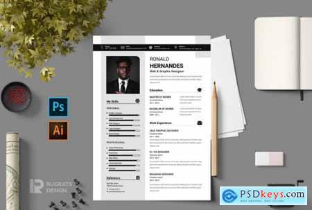 CV Resume r17